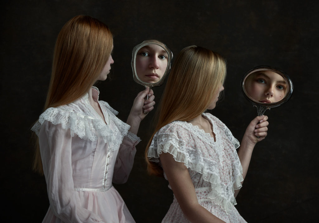 fine art portrait of girls
